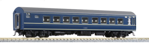 Kato N 5158B Nahane 20 Series Coach Car, Blue Train