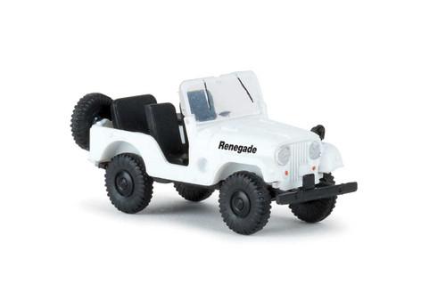 Brekina HO 58909 1950s-1980s Jeep Universal SUV, Renegade