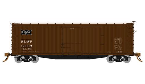 Rapido HO 130110 40' USRA Box Car 4-Car Pack, St Louis San Francisco
