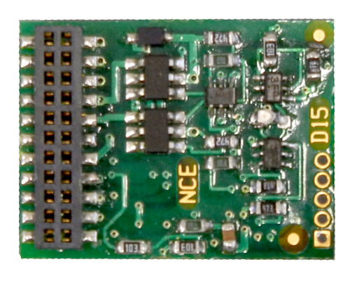 NCE HO 524156 D16MTC 6 Function 21 Pin Decoder for Athearn Locomotives