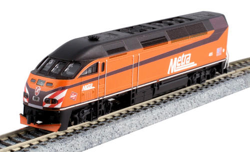 Kato N 1068701-KB1 MP36PH and Bi-Level Coach 4-Unit Collector's Set, Milwaukee Road Heritage