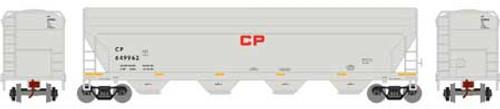 Roundhouse HO 7245 ACF 5250 Centerflow Hopper, CP Rail #649962