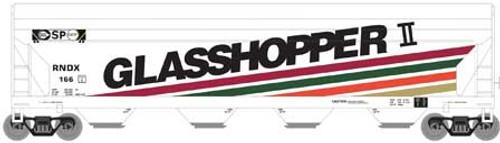 Roundhouse HO 7257 ACF 5250 Centerflow Hopper, Glasshopper II (RNDX) #165