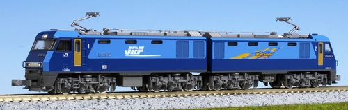 Kato N 30451 EH200 Mass Prduction Type Electric Locomotive, Blue Thunder