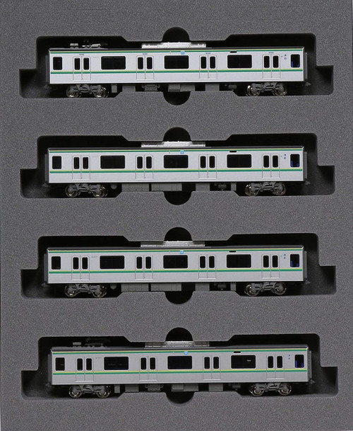 Kato N 101606 16000 Series 5th Car 4-Car Basic Set, Tokyo Metro Chiyoda Line