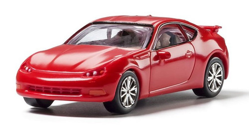 Woodland Scenics HO AS5369 Red Sport Coupe