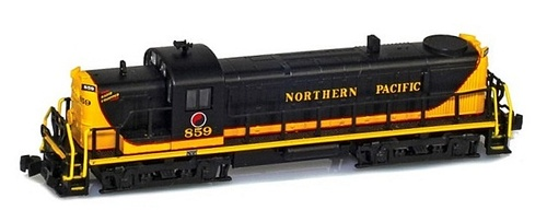 American Z Line Z 63301-1 RS-3, Northern Pacific #859