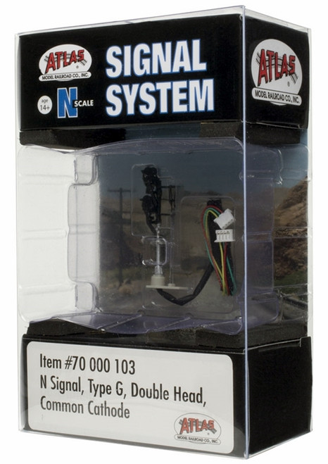 Atlas N 70000103 Signal Type G, Double Head