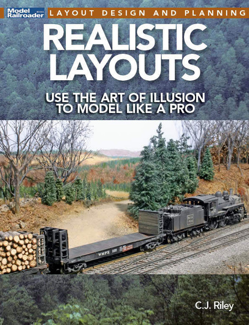 Kalmbach Publishing Softcover Book 12828 Realistic Layouts