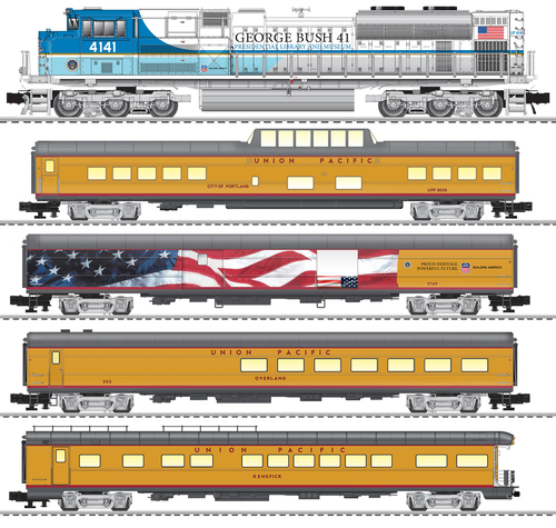 Lionel O 2022050 George H. W. Bush Funeral Train Set