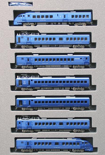 "Kato N 10288 Series 883 ""Sonic"" Series, JR Express (7)"