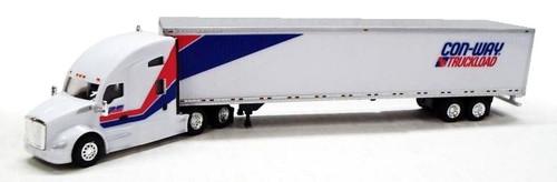 Trucks N Stuff HO 400629 Kenworth T680 Sleeper with 53' Dry Van Trailer, Conway Truckload