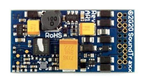 Soundtraxx 885809 TSU-21PNEM8 Tsunami2 Sound Decoder, EMD Diesel