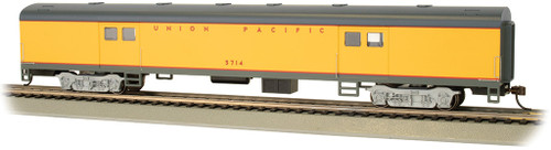 Bachmann HO 14403 72' Smooth Side Baggage Car, Union Pacific #5714