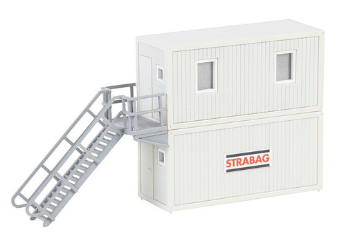 Faller HO 130133 Portable Modular Container Office with Staircase Kits