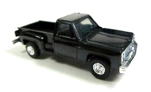 Trident Miniatures HO 90015S Chevrolet Pick-Up Truck Kit, Black