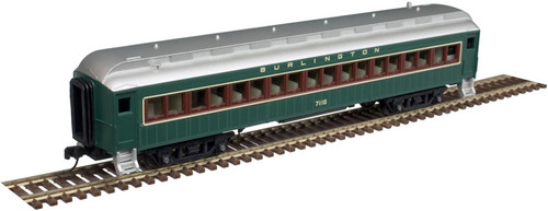 Atlas Trainman N 50005102 60' Coach, Burlington #7124