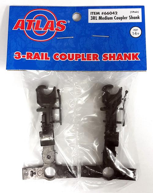 Atlas O 66042 3-Rail Medium Length Coupler Bar (1 Pair)