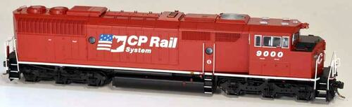 Bowser HO 24353 GMD SD40-2F, Canadian Pacific (Dual Flag) #9000