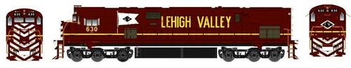 Bowser HO 24774 ALCo C-628, Lehigh Valley #630