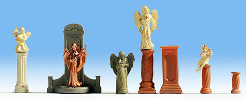 Noch HO 14872 Gravestones and Statues (7)