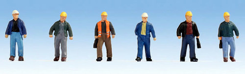 Noch HO 15057 Construction Workers (6)