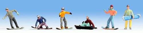 Noch HO 15826 Snowboarders (6)