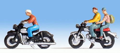 Noch HO 15904 Motorcyclists