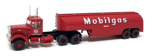 Trainworx N 55017 Vintage Peterbilt 350 Tractor and Fuel Tanker, Mobile