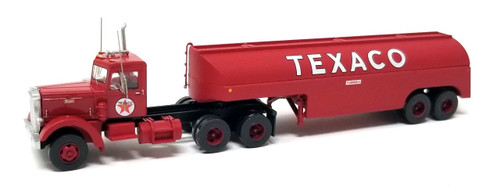 Trainworx N 55019 Vintage Peterbilt 350 Tractor and Fuel Tanker, Texaco