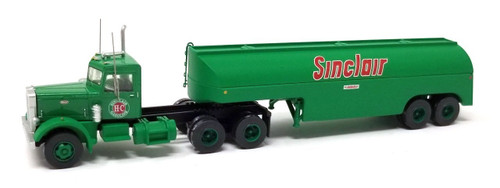 Trainworx N 55123 Vintage Peterbilt 351 Tractor and Fuel Tanker, Sinclair