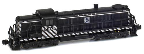 American Z Line Z 63305-3 ALCO RSD-4 Diesel Locomotive, Atchison Topeka and Santa Fe #2105