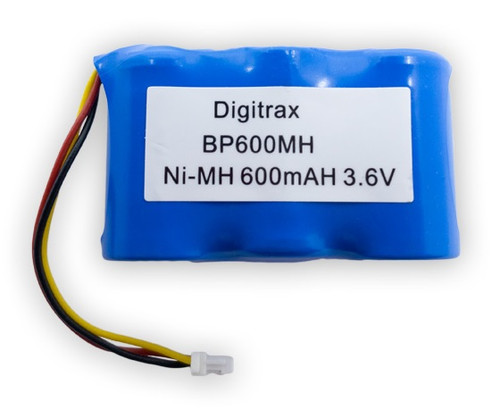 Digitrax BP600MH Ni-MH 600mAH 3.6v Battery Pack