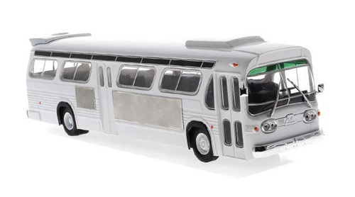 Iconic Replicas O 43-0190  GM TDH-5303 Transit Bus, Blank White (1:43)
