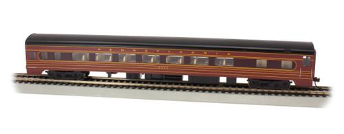 Bachmann HO 14211 85' Smoothside Coach with Lighting, Pennsylvania Railroad #4244