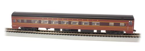 Bachmann HO 14212 85' Smoothside Coach with Lighting, Pennsylvania Railroad #4251