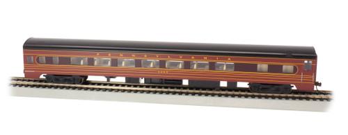 Bachmann HO 14213 85' Smoothside Coach with Lighting, Pennsylvania Railroad #4263