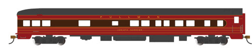 "Bachmann HO 14310 85' Smoothside Observation Car with Lighting, Pennsylvania Railroad ""Juniata Narrows"""