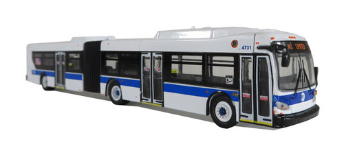 Iconic Replicas HO 87-0194 New Flyer Xcelsior XD60 Articulated Bus, New York City MTA