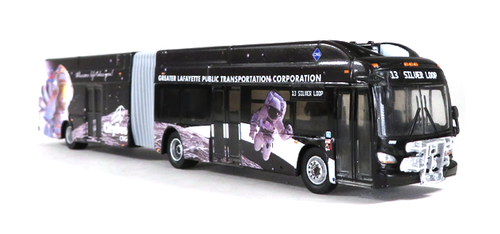 Iconic Replicas HO 87-0202 New Flyer Xcelsior XD60 Articulated Bus, Lafayette Indiana