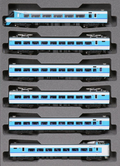 Kato N 101641 Series 381 Super Kuroshio 6-Car Basic Set, Japan Railway