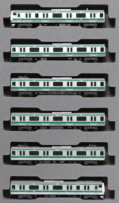 Kato N 101630 E233 Series 7000 Saikyo Like 6-Car Basic Set, Japan Railway