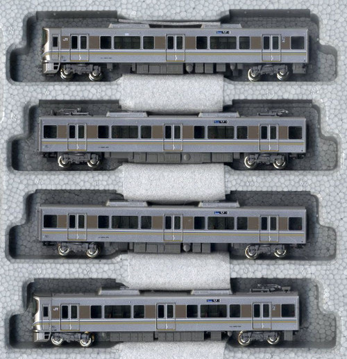 Kato N 101440 Series 225-100 Special Rapid Service 4-Car Set, Japan Railway