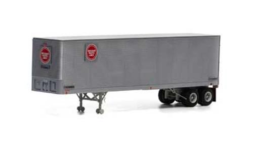 Athearn HO 14544 40' Fruehauf Z-Van Trailer, Missouri Pacific #200643