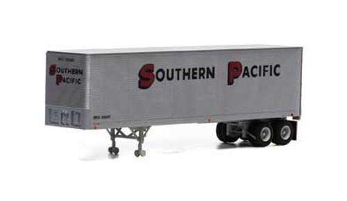 Athearn HO 14548 40' Fruehauf Z-Van Trailer, Southern Pacific #200620