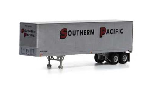 Athearn HO 14549 40' Fruehauf Z-Van Trailer, Southern Pacific #200643