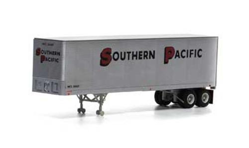 Athearn HO 14550 40' Fruehauf Z-Van Trailer, Southern Pacific #200657