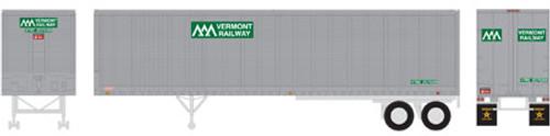 Athearn HO 14554 40' Fruehauf Z-Van Trailer, Vermont #207699