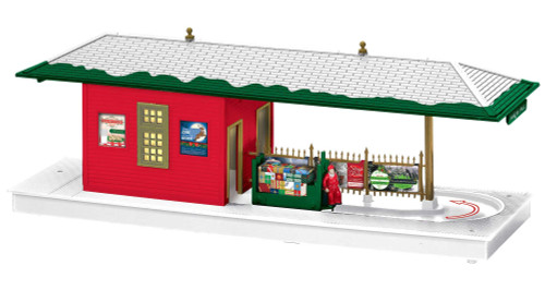 Lionel O 2029180 Operating Freight Station, Christmas