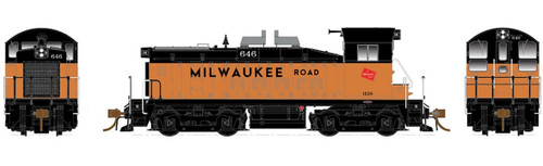 Rapido HO 27536 SW1200, Milwaukee Road #646